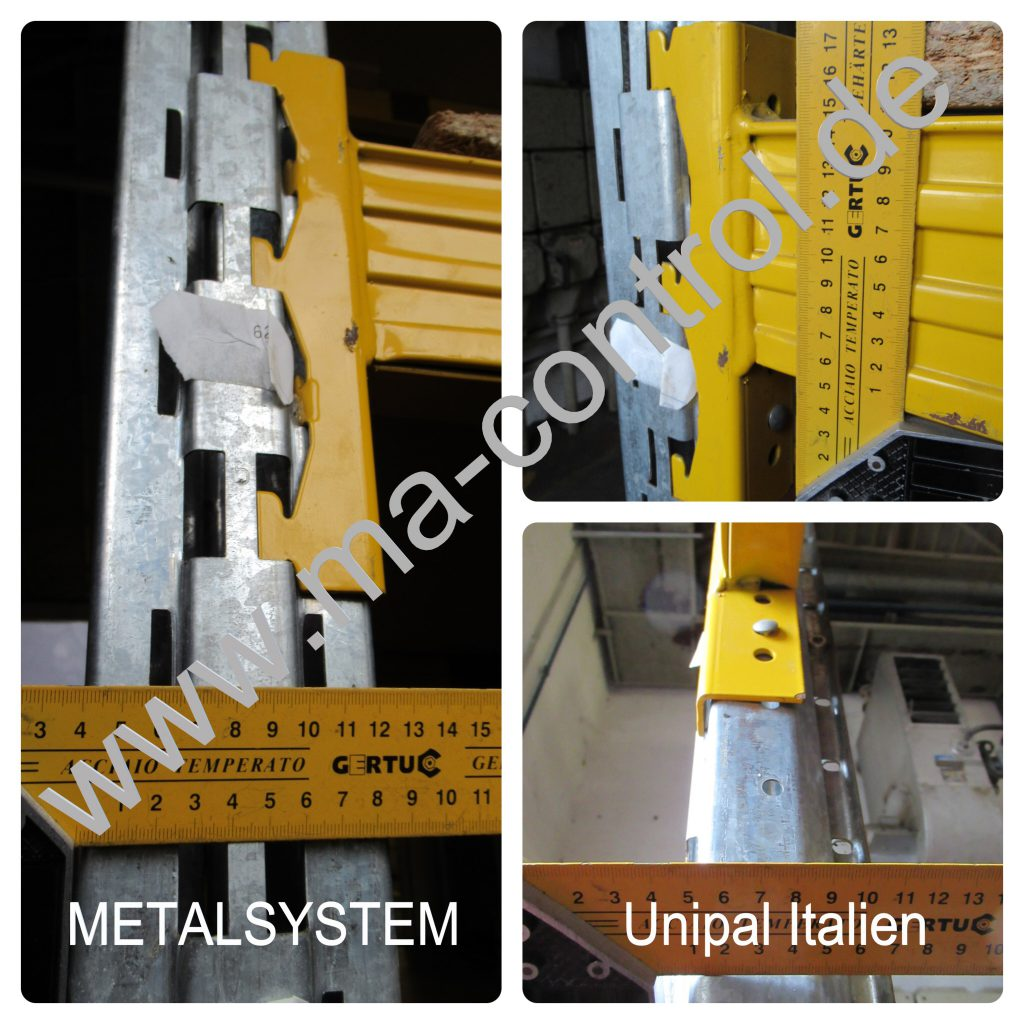 ma-control#METALSYSTEM Unipal Italien
